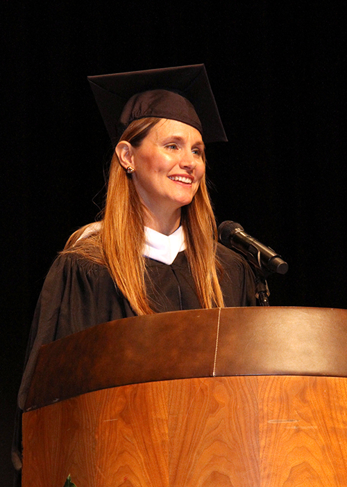 LBC Alumna Laura Comilla Gives Commencement Address