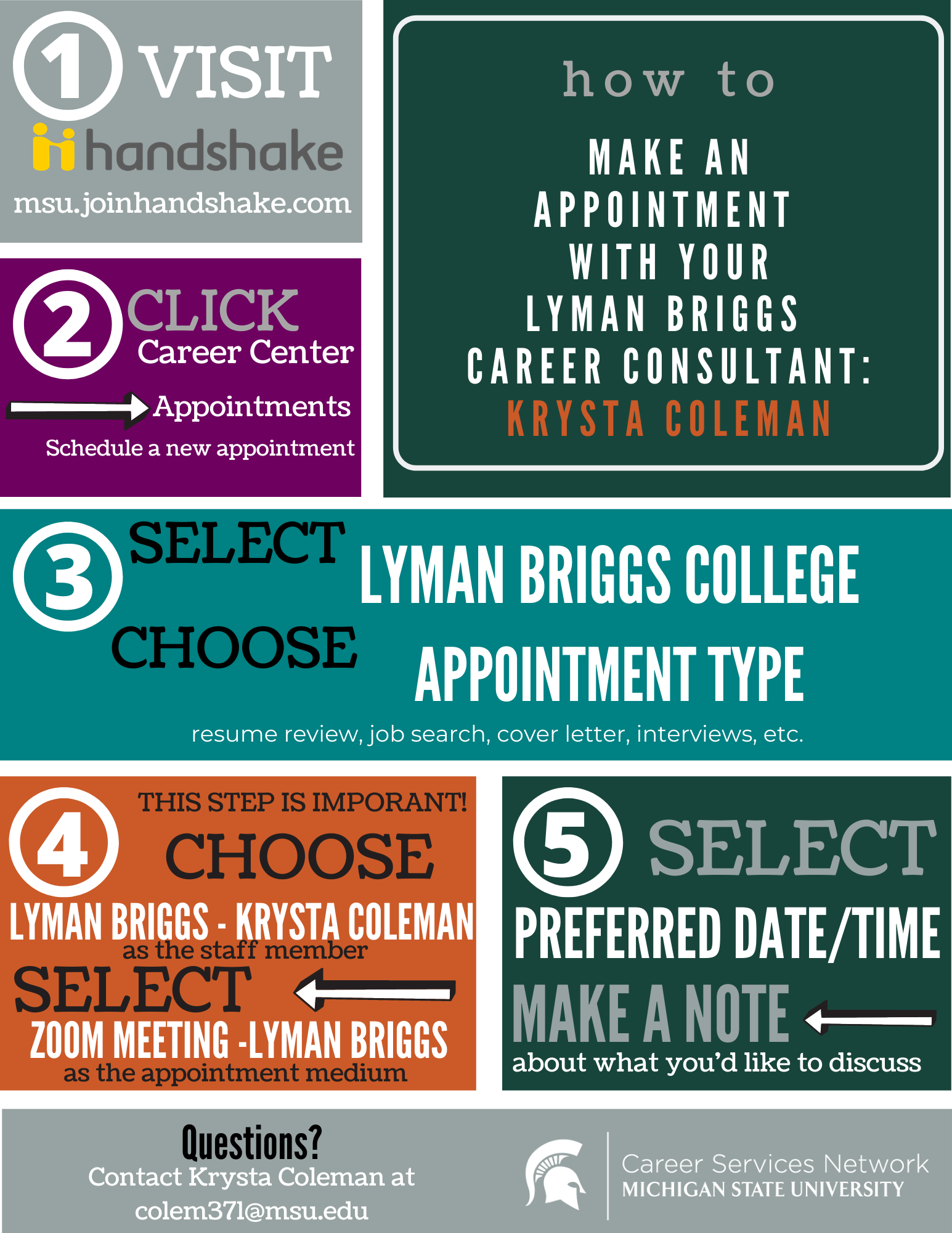 how to make a virtual appointment flyer.